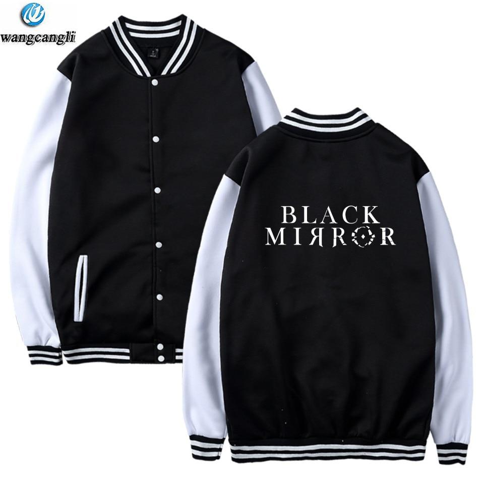 2018 Hot TV Plays Black Mirror Bomber Jacket Casual Harajuku Baseball Tracksuit Pink Sweatshirt Kawaii Hoodies Sudaderas Mujer