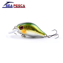1PCS 8.5G 5.5CM Bass Fishing Lures Crankbait fishing Tackle Swim bait wobblers japan Hard bait ZB237