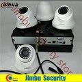 Dahua 720 p hdcvi kit sistema de vigilancia 4ch xvr4104hs video recorder 4 pchdcvi infrate hac-hdw1100c 20 m cctv cámara de seguridad
