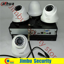 Dahua 720P hdcvi kit 4ch surveillance system XVR4104HS Video Recorder 4pcHDCVI HAC-HDW1100C infrate 20M cctv security camera