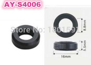 free shipping 500pieces set fuel injector Corrugated rubber seals o rings AY S4006 16 8 8