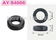 free shipping! 500pieces/set fuel injector Corrugated rubber seals o rings(AY-S4006, 16*8.8*5.5mm)