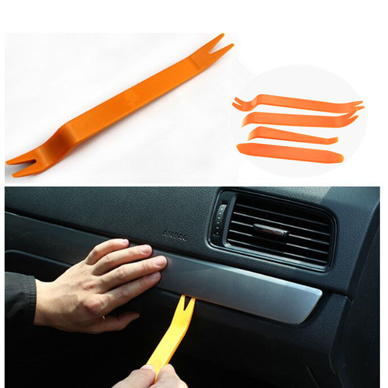 4pcs/set Car Audio door removal tool sticker For <font><b>Mercedes</b></font> Benz A200 <font><b>A180</b></font> B180 B200 CLA GLA AMG C E CLS GL GLK CLK SLK Class image
