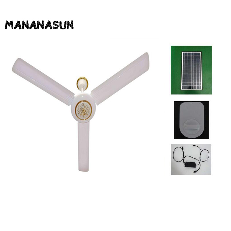 Dc solar ceiling fan solar powered cooling fans 40w 50w solar dc solar ceiling fan solar powered cooling fans 40w 50w solar panelacdc converter runs 24h working in fans from home appliances on aliexpress mozeypictures Image collections