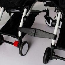 3 pçs acoplador bush inserir nos carrinhos para babyzen yoyo bebê yoya carrinho de criança conector adaptador fazer yoyo em pram gêmeos