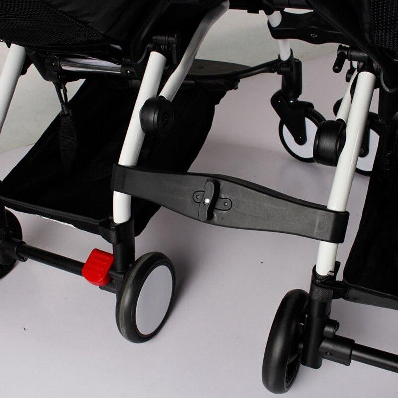 3 pcs Coupleur insert Douille dans le poussettes pour babyzen yoyo bébé yoya poussette connecteur adaptateur faire YOYO en landau jumeaux
