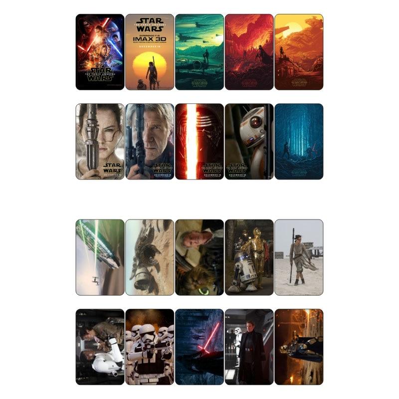 Ijverig 1 Stks Star Wars De Kracht Wekt Movie Thema Poster Diy Sticker Post Het Decor Scrapbooking Dagboek Mohamm Sticker Vlokken Bespaar Zonder Kosten
