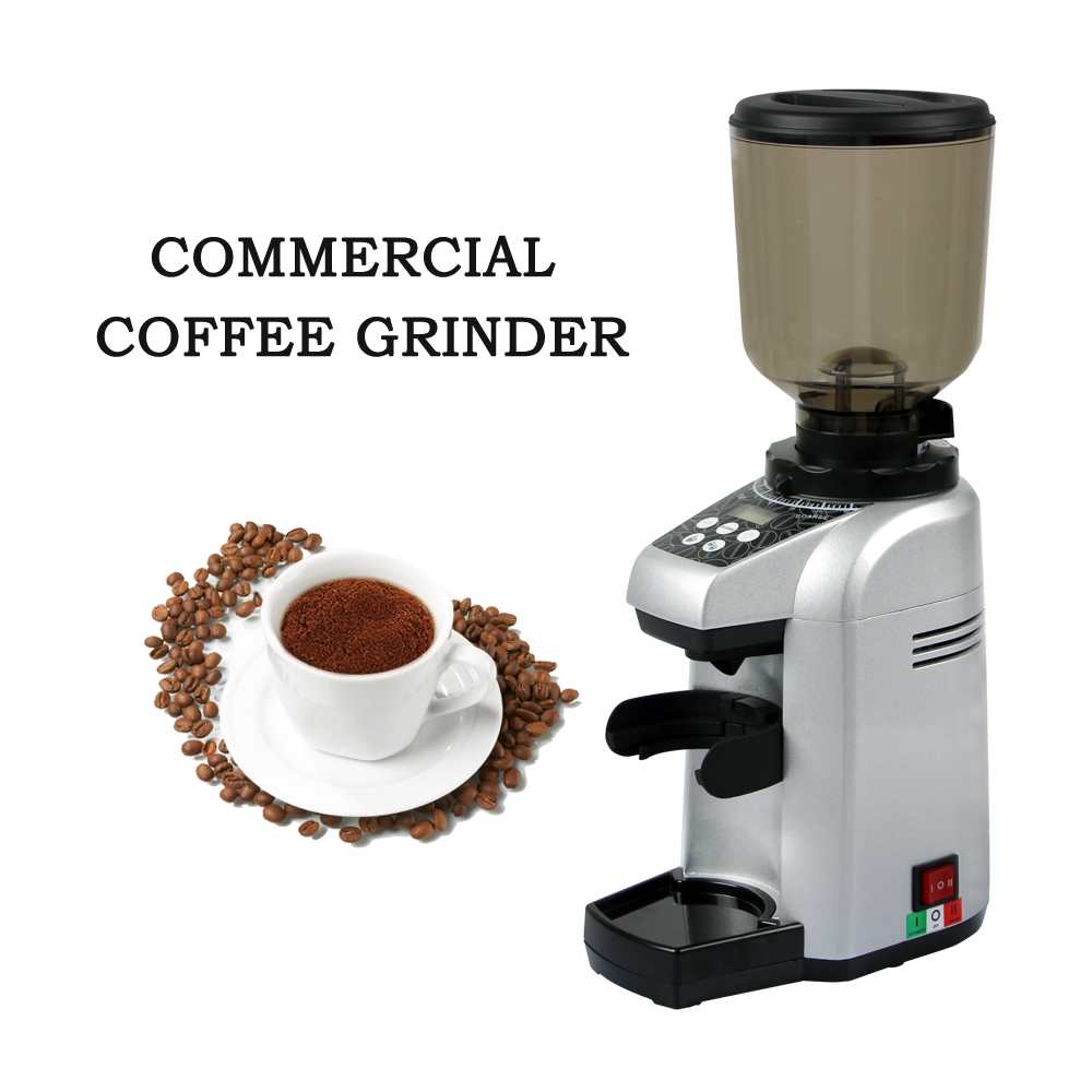 ITOP Commercial Electric Coffee Grinder Grains Coffee Bean Dry Food Milling Machine Burr Grinders Coffee Tools