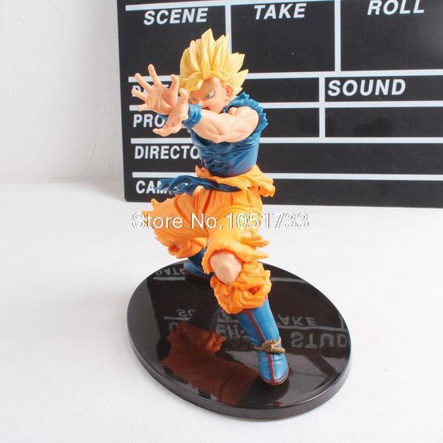 Anime bola de Dragon Z figura Super Saiyan Goku PVC figura de accion colección modelo de juguete 17 CM