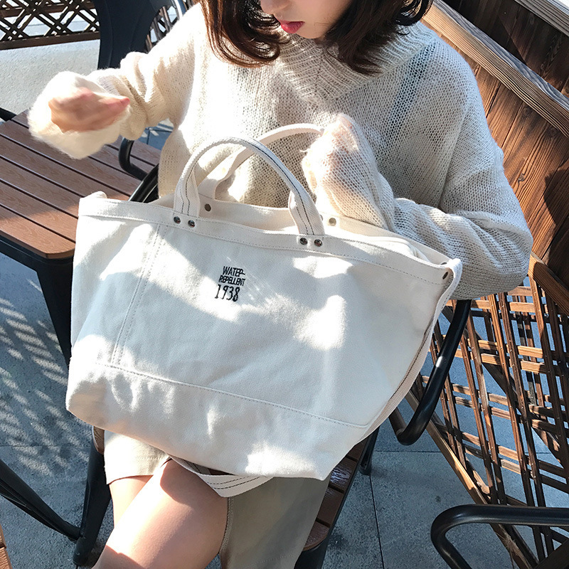 Women Shoulder Bags Embroidered Female Canvas Bag Ladies Handbag Large Capacity Casual Totes Big Shopping Bag Brand Designer women canvas patchwork handbag high quality brand luxury ladies tote bags big casual shopping female shoulder bag bolsos mujer
