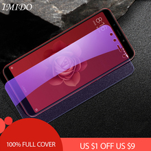 Full Cover Anti Blue Screen Protector for Xiaomi Mi A1 A2 Lite Anti Blue Tempered Glass Film for Mi A1 A2 Lite Protective Film все цены
