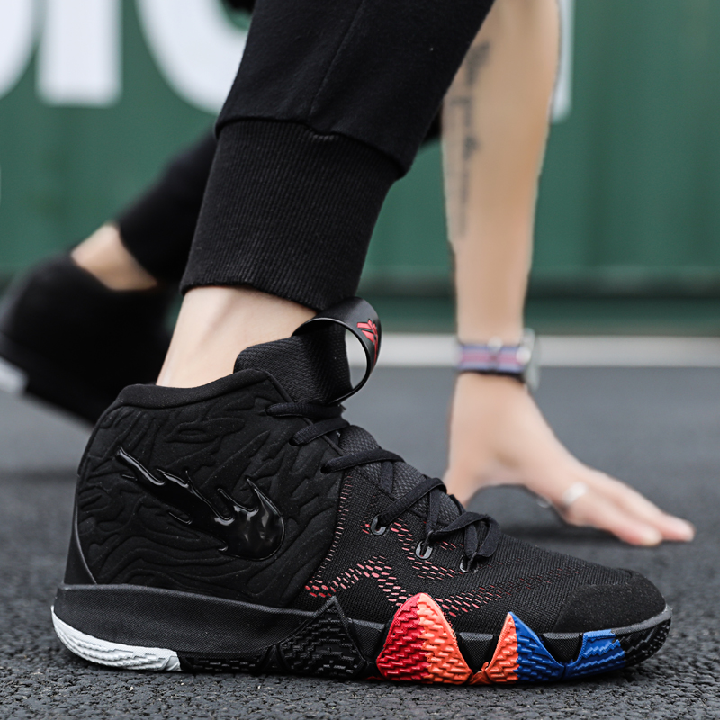 Hemmyi Men Basketball Shoes Light Basketball Boot Anti-skid Comfortable Breathable Outdoor Sports Shoes Men Basketball Sneakers
