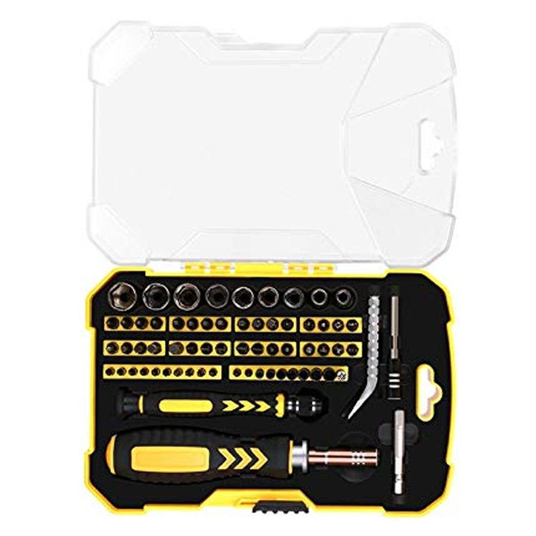 Jeu de tournevis multi-fonction ordinateur PC téléphone portable numérique appareil électronique réparation main outils à la maison Bit