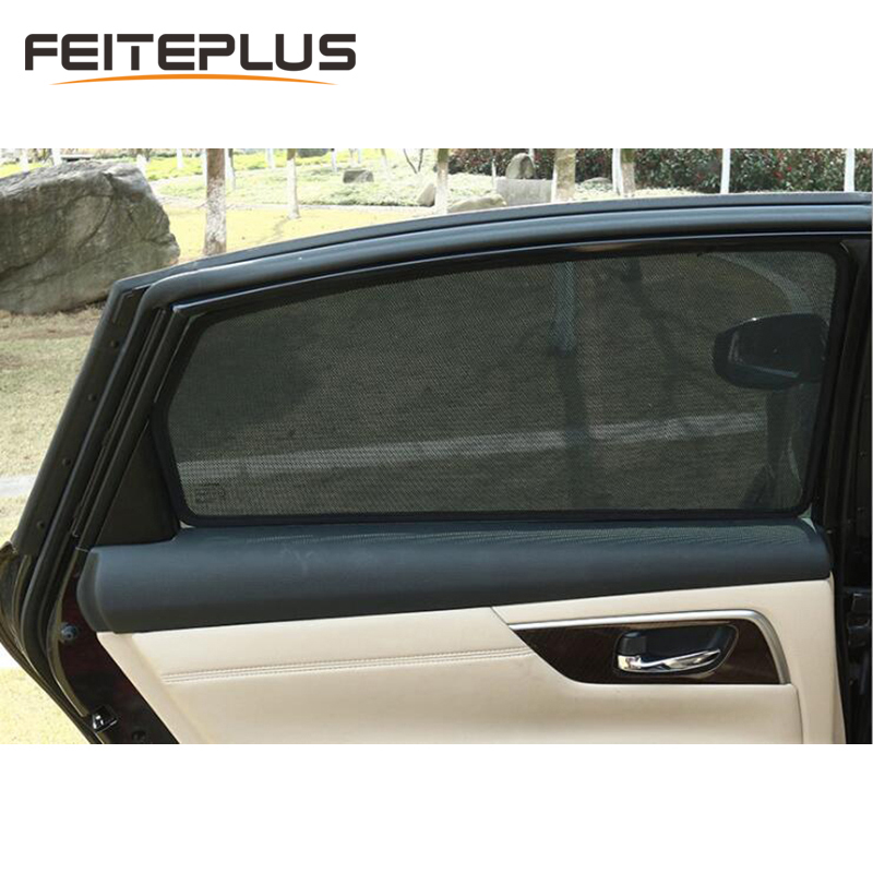Automotive Car Window Curtain Visor Auto Side Windows Shade Sunshades Rear Windshield Sun Block Blinds For BMW Special Made