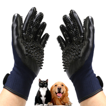 Rubber Pet Hair Comb Bath Brush Glove Gentle Efficient Cleaning Bath Massage Pet Grooming Dog Cat Toy Pet Supplies silicone cat gloves hair comb pet bath brush gentle efficient massage grooming and for pet washing gloves goods hair pet finger