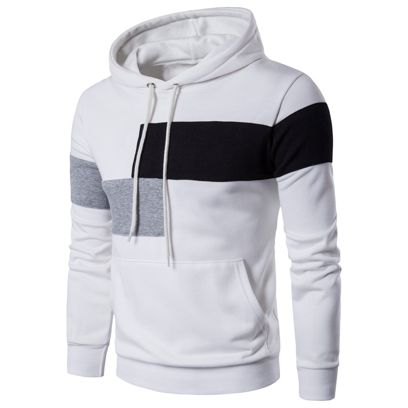 9f1754f0d371 New Arrival High Quality sweatshirts Men Fashion Casual pullover hoodie  Free Shipping Stitching Hoodies Clothing Plus Size 3XL-in Hoodies    Sweatshirts from ...