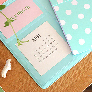 Image 5 - Korea Hot Sale Kawaii Candy Color Office Mat Multifunctional Weekly Planner Organizer Desk Table Storage Memo Mat Learning Pad