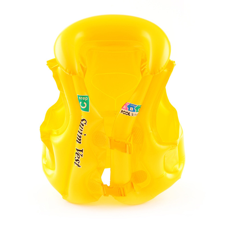Childrens Sports Swimming Water Toys New 3 Colors Baby Float Swimming Toddlers Aid Life Jacket Child Inflatable Swim Beach Vests