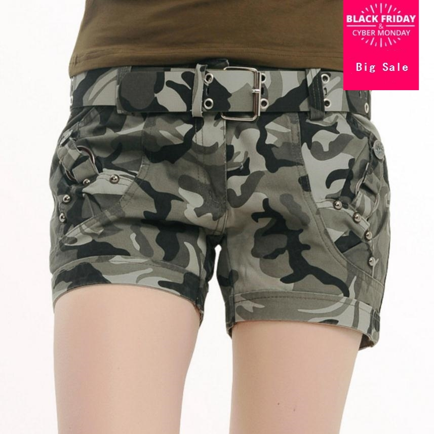 High Quality 2019 Summer Fashion Camouflage Cotton Shorts -5178