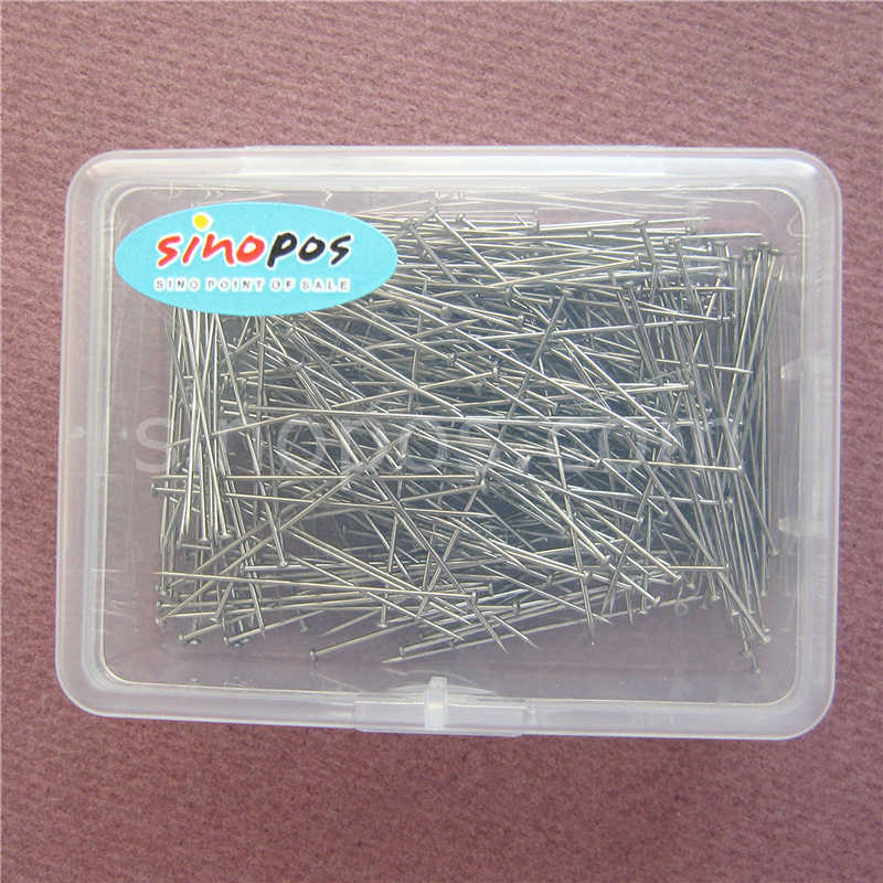 Extra Fine Stainless Steel Straight Pins, metal sharp pointed tip  dressmaker shirt silk satin pin quilt applique sewing needle