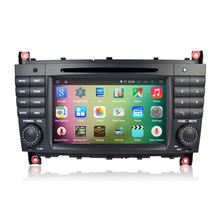 7″ Android 5.1.1 Quad Core Car Radio DVD GPS Navigation Central Multimedia for Mercedes Benz C W203 CLK W209 200 C200 C230 C320