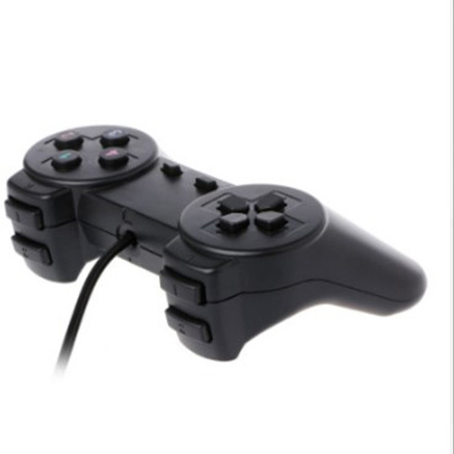 USB 1.01/ 2.0 Controller Gamepad for PC USB Joystick for PC Game Wired Computer Control for Windows Laptop Plug and Play