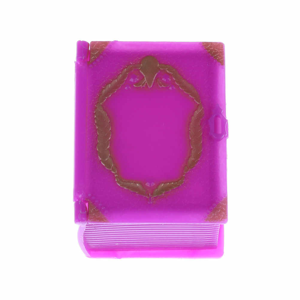 Children 3D Box Fashion Plastic Furniture Kids Toy Play House For Girl Doll Dress Storage Case