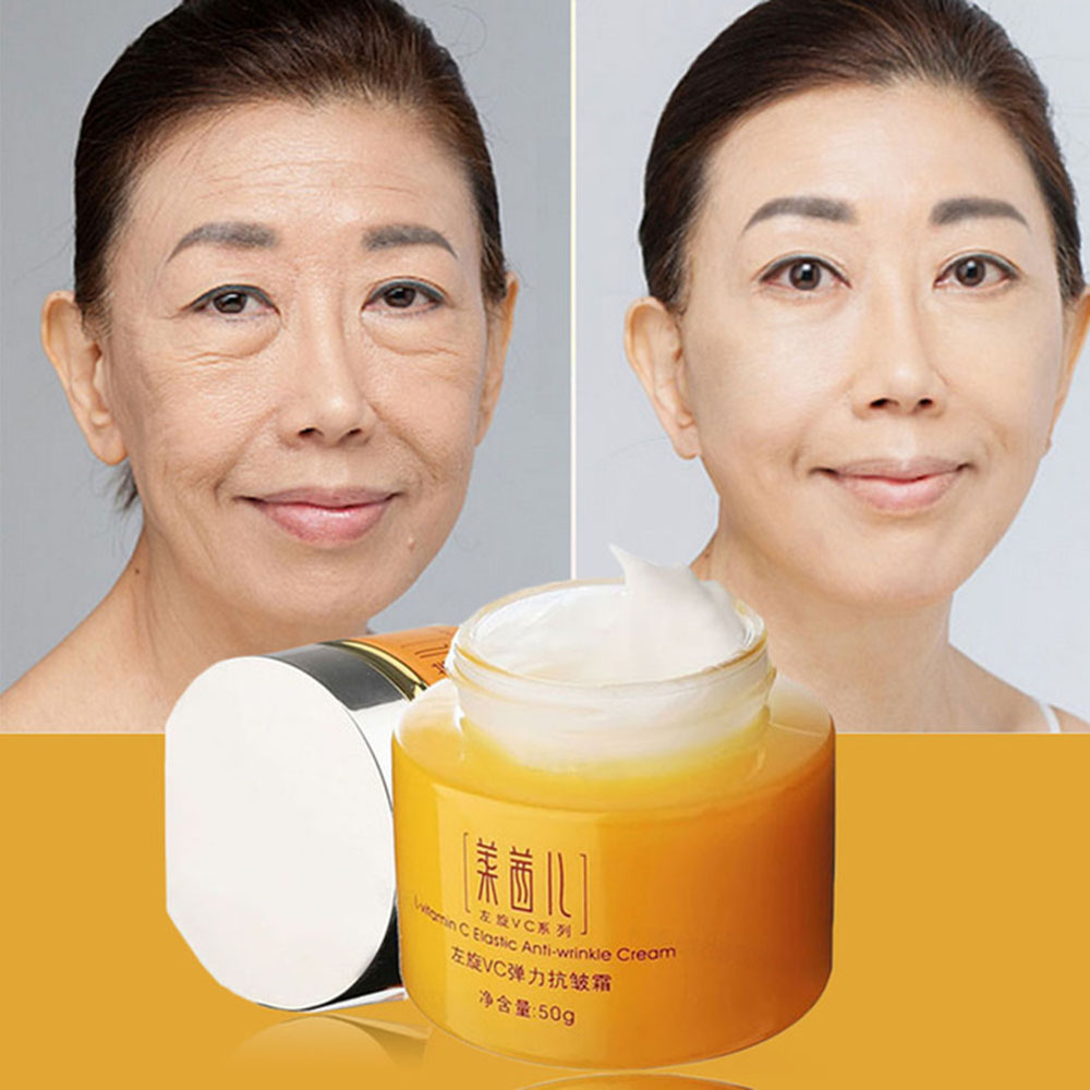 Skin Care Vitamin C Cream For Anti-Aging Anti Wrinkle Moisturizing Whitening Tightening Face Cream Korean Cosmetics