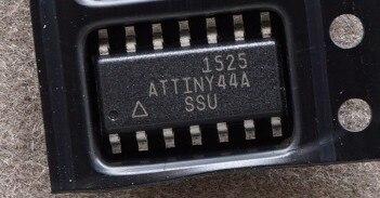 10 sztuk/partia ATTINY44A-SSU SOP-14 8-bit SOP ATTINY44A-SU SOP14 44A-SSU mikrokontroler programowalny ATTINY44A