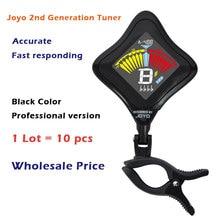 Großhandel 10 teile/los JOYO JT-02 Cobra Professionellen Clip Auf Digitale Gitarre Bass Violine Tuner mit Lcd-hintergrundbeleuchtung Display