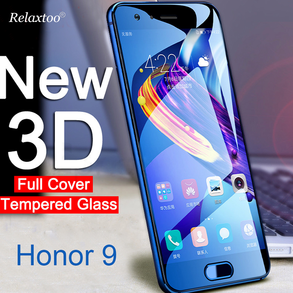 Honor 9 Glass 3D Tempered Glass Screen Protector For Huawei Honor 9 Honor9 Lite 9Lite Light STF-L09 Safety Protective Film Cover