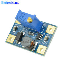 2 PCS DC-DC 2-24 V zu 2-28 V Step Up Einstellbare Power Module Step Up Boost converter Modul 2A SX1308