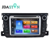 Jdaston 2 DIN 7 дюймов Android 8.0 dvd-плеер автомобиля для Mercedes-Benz смарт 2012 2013 2014 4 г оперативной памяти радио мультимедиа GPS навигации FM