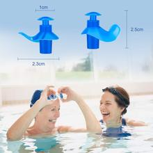 Swim Ear Plugs Adults with Storage Case Silicone Waterproof Earplugs for Swimming Diving Showering Surfing Bathing Water Sports 1 set waterproof silicone diving swim sport accessories adults children swimming ear protection plugs earplugs nose clip w case