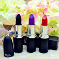 2016 New Brand Fashion Profession Lipstick Rose sauce vampire grape purple color especially black lipstick gloss Free Shipping