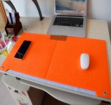 Большая клавиатура Фетр Мышь Коврики Мышь площадку для macbook Ноутбук Прочный Стол Коврики современный Настольный Фетр офис 67x33 см