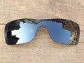 Iridio negro Espejo Polarizado Lentes De Repuesto Para Batwolf Marco de Gafas de sol 100% protección UVA y Uvb