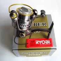 RYOBI Fishing Reel ZAUBER1000 4000 Spinning Reel Full Metal Lure Fishing Reel