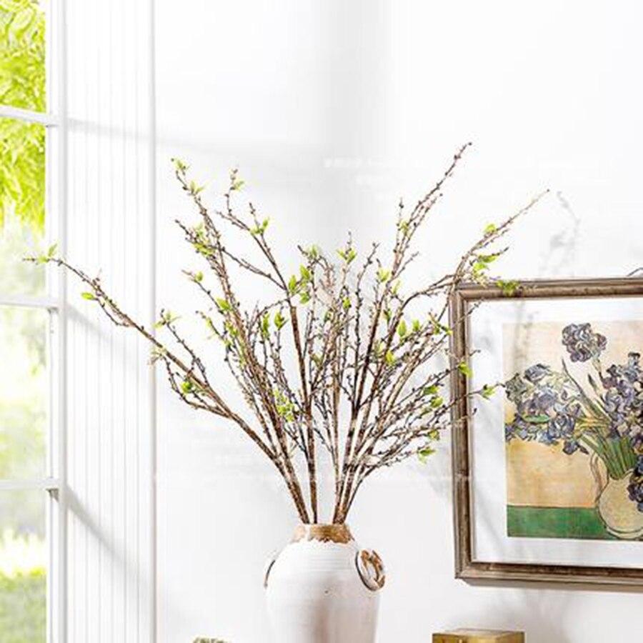 Kepala Bunga buatan Untuk Dekorasi Pernikahan Plastik Dekorasi Rumah Bunga  Di Pot Tanaman Buatan Sutra Palsu f48df4ee81