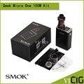 100% original tc mod smok micro uno 150 kit con r150 y 4 ml Minos Sub Tanque Smoktech Mod SS R150 Ni200 Alambre De Ti de Apoyo