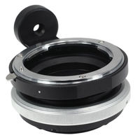 FOTGA Tilt Adapter Ring for Nikon Lens to Sony Adapter for ILCE 6000/7R NEX 5T VG10 VG20 Nex3 Nex5 NEX7 NEX5N