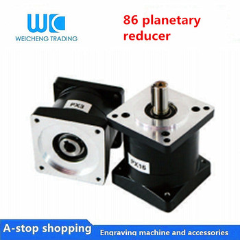 1pc planetary reducer  NEMA34 Ratio 52.8:1 64:1 96:1 144:1 216:1  can be equipped with stepper / servo / brushless motor