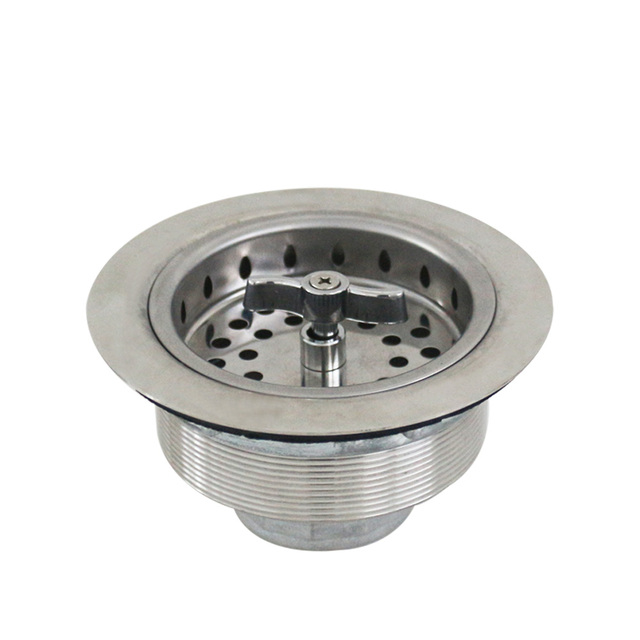 Talea Stainless Steel Kitchen Sink Drainer basin Assembly Strainer ...