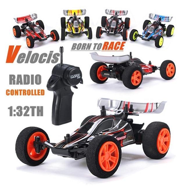 Velocis RC רכב 1/32 דגם צעצוע של רכב שטח 2.4G Mutiplayer במקביל 4CH לפעול USB טעינת מהדורה ביגפוט נוסחת רכב