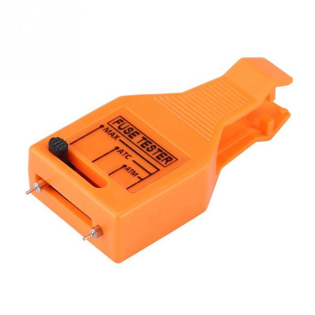 fuse tester multi functional automotive blade fuse checker tester fuse puller removal tool for mini standard maxi auto fuse [ 640 x 640 Pixel ]