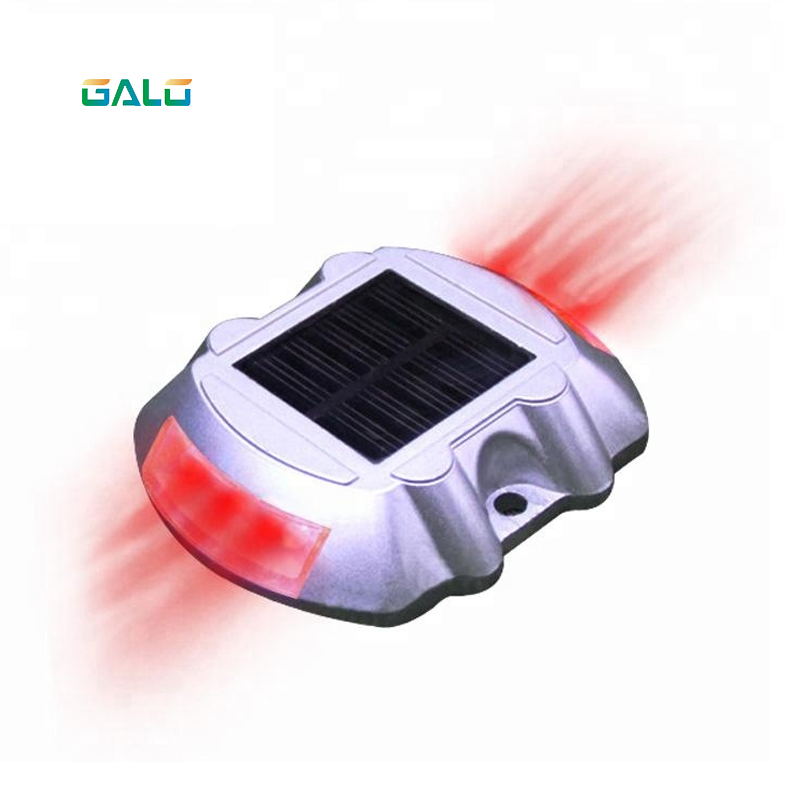 Horseshoe Shape Solar Led Cat Eye Reflective Road Stud