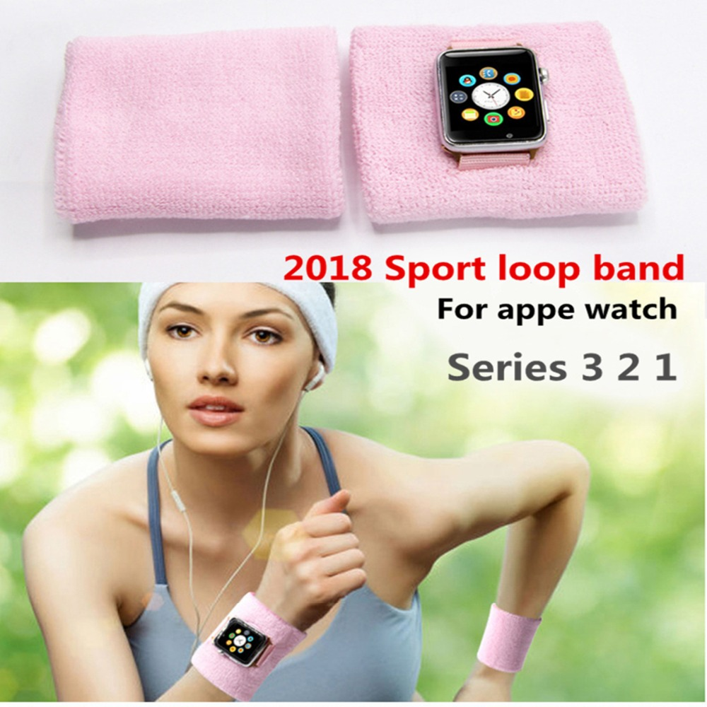 CRESTED Gym Sports Running Armband For Apple watch 3 2 1 42mm/38mm 3 2 1 woven nylon bracelet wrist belt стоимость