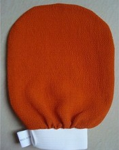 50pcs/lot morocco hammam scrub mitt magic peeling glove exfoliating tan removal mitt  Package mail