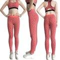 Yel gimnasio mujeres pantalones largos pantalones de yoga caliente deportes medias atractivas flacas pantalones niñas legging de fitness yoga corriendo pantalones de compresión