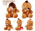 Cute Monchichi Sagittarius Constellation 20cm Plush Stuffed Toys Doll